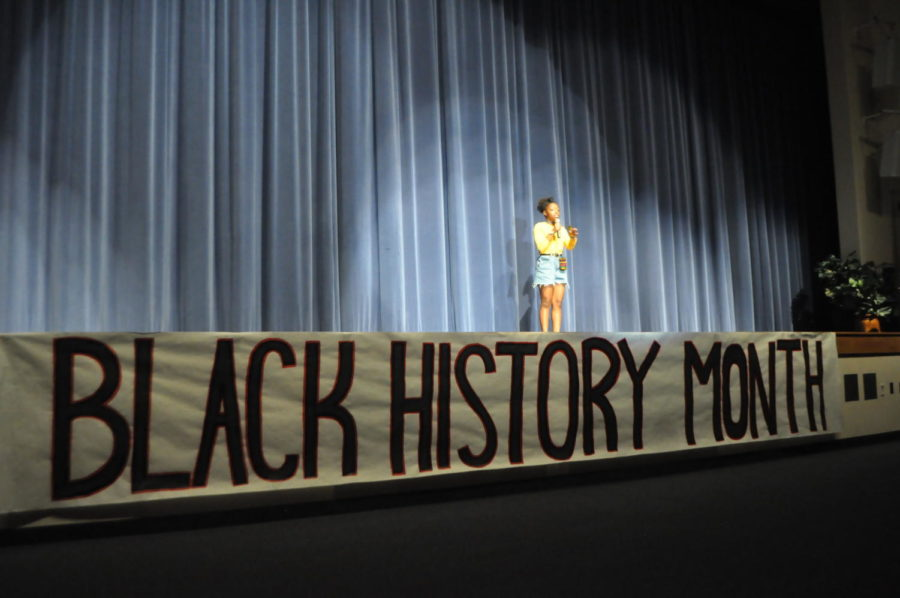 February is Black History Month and SHS is celebrating with their annual show.