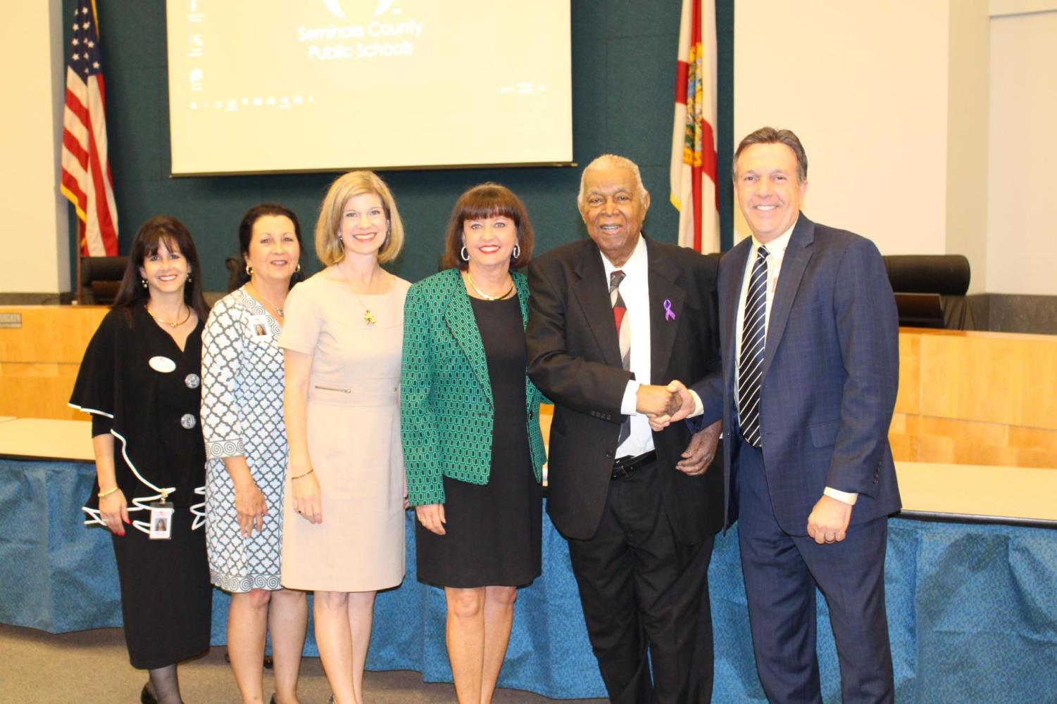 The SCPS School Board voted to name Seminole High School's ninth grade center after Edward Blacksheare, an influential member of SHS's community.