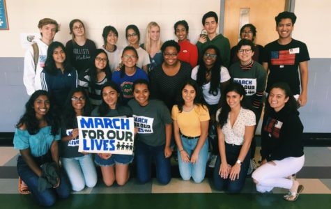 Student volunteers and members of March For Our Lives Orlando worked together to register voters.