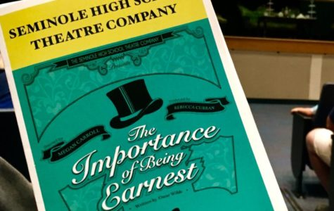 "REVIEW: ""THE IMPORTANCE OF BEING EARNEST"" AT SHS"