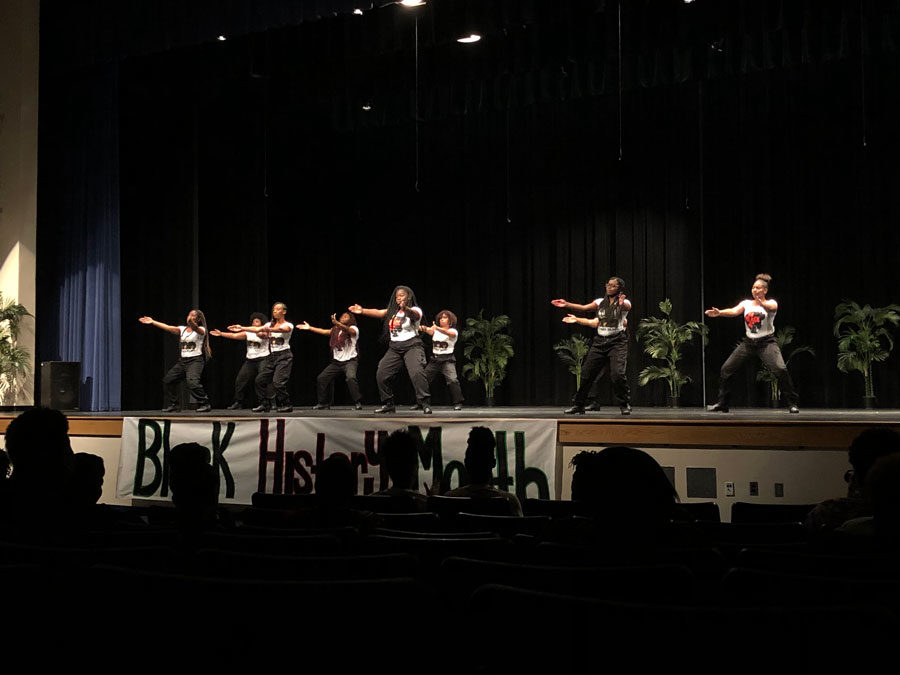 Seminole High School put on a Black History show on Saturday the 23rd. Representing and giving background information of the importance of each day in February.
