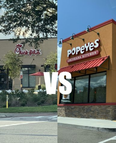 POPEYES VS CFA