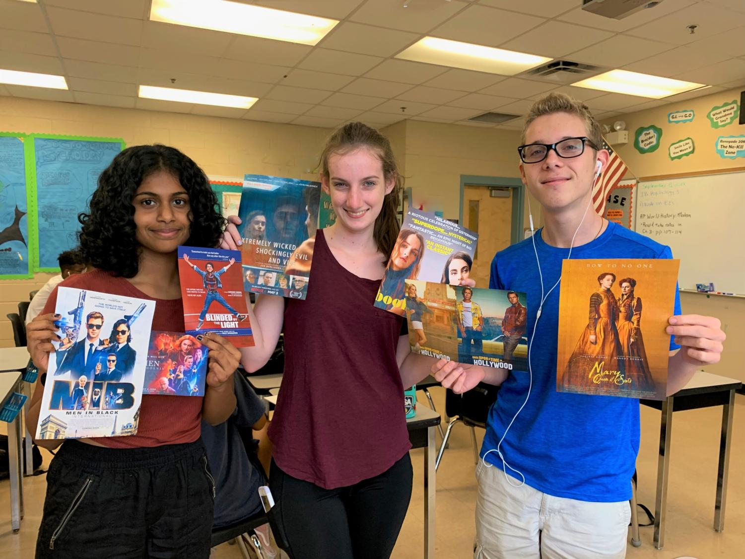 Seminole High's students show their reactions to the newest movies of 2019.
