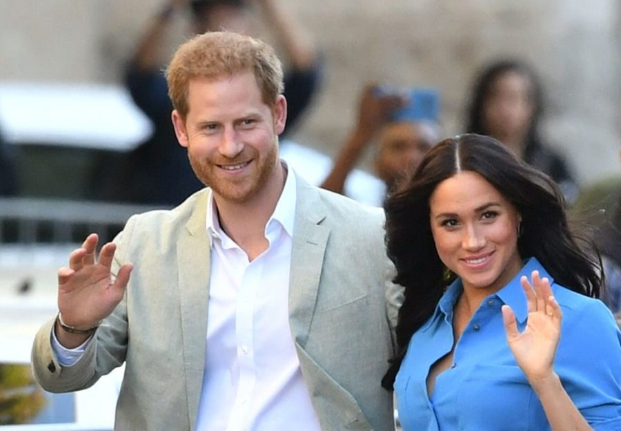 Duchess+Meghan+Markle+makes+history+with+her+and+Prince+Harry+retiring+from+the+Royal+family+