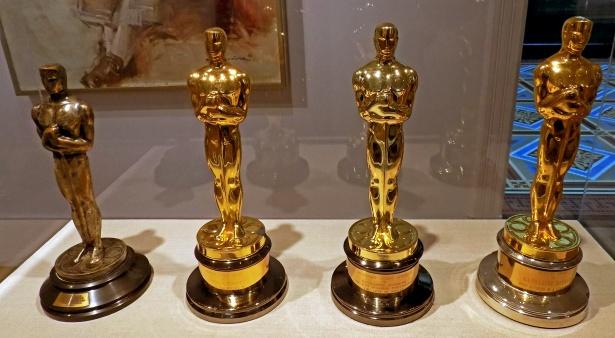 Katherine Hepburn's four Oscars.