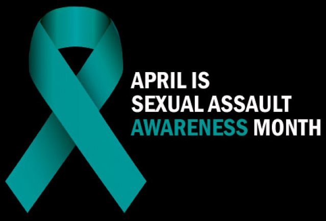 As of 2000, the blue ribbon represents sexual assault awareness in the United States. Photo credit to https://www.efr.org/sexual-assault-awareness-month/ .