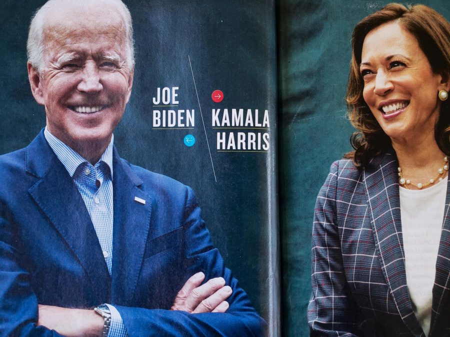Biden+and+Harris+are+the+democratic+nominees.+They+are+seeking+to+unite+the+democratic+party+and+gain+bipartisan+support+going+into+the+2020+election.