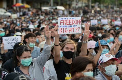 In Thailand, an up roar of protests have began. Thailand had been under military rule since 2014 and the people have had enough.
