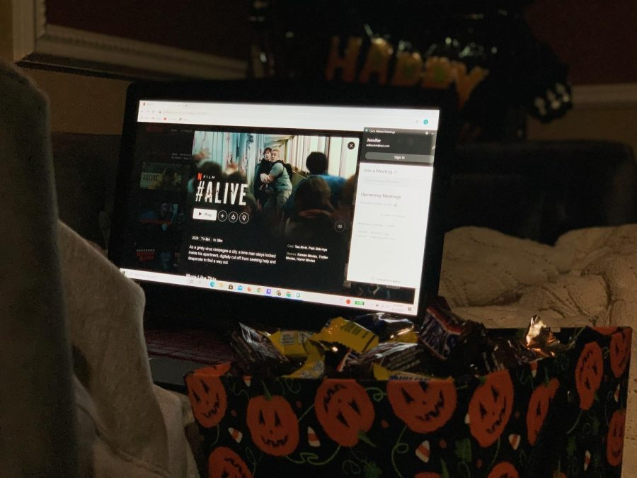 Despite the pandemic's effects on school clubs, the Asian Student Association at Seminole High School came up with a way to host a spooky Halloween movie night. Using Netflix Party along with Webex, they were able to have a safe and successful movie night.