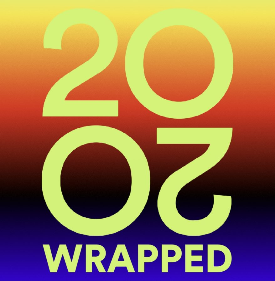 "The end of every year Spotify showcases an end of the year ""wrap up"". It shows the most played artist, song, genre, etc. and even personalizes it for Spotify users."