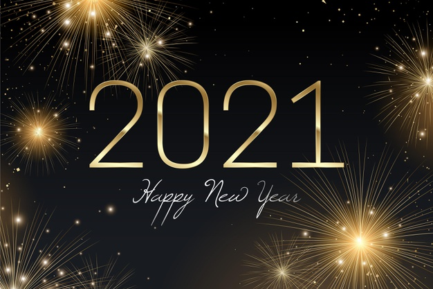 2020 is officially over and people all around the world celebrated the new year going into 2021.  Source: freepik