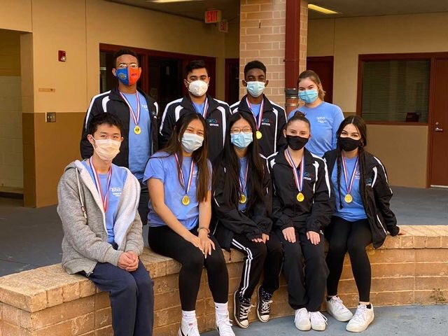 SHS HOSA Team Group Photo courtesy of SHS HOSA.