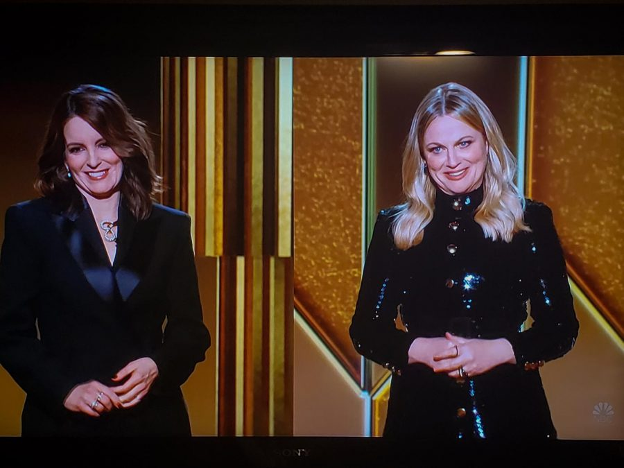 On February 28th, 2021 the 78th annual Golden Globes was hosted by comedians Tina Fey and Amy Poehlr.